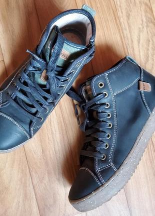 Кожаные ботиночки geox