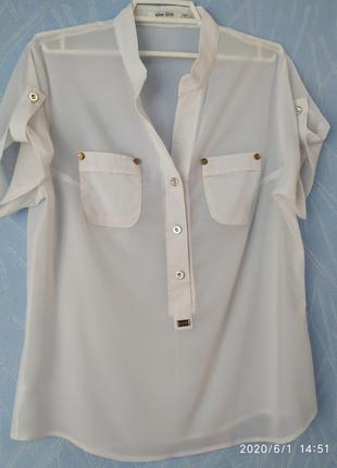 Блузка женская шифоновая 46 размера