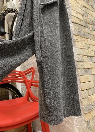 Шикарный стильный серый  комбинезон брюки кюлоты4 фото