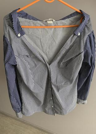 Рубашка с открытыми плечами2 фото