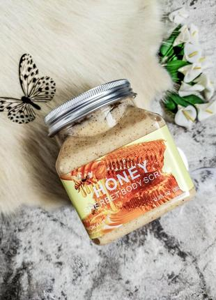 Скраб для тела wokali honey sherbet body scrub 350 мл
