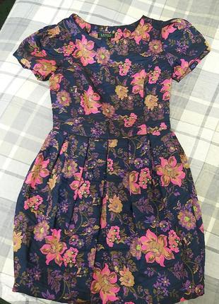 Платье вышивка цветы ralph lauren