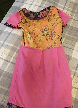 Платье вышивка цветы ralph lauren4 фото