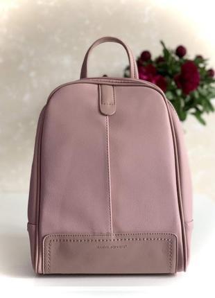 Женский городской рюкзак david jones pink