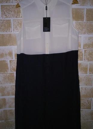 Крутая удлиненная рубашка / блуза колор блок , большой размер!👌🌷1 фото