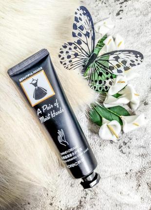 Парфумований крем для рук з екстрактом авокадо rorec a little black dress hand cream