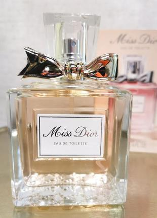 Christian dior miss dior 100ml, edt диор, парфюм, духи