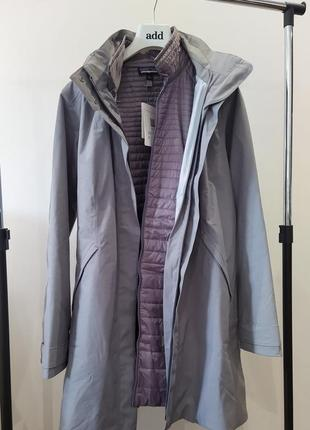 Новая парка patagonia 3 in 1 куртка пальто плащ ветровка дождевик 100g thermolite®