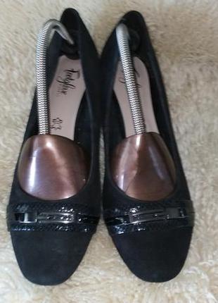 Footglove туфлі замша3 фото