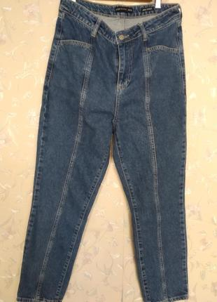 Мом джинс бойфренд  с высокой посадкой женские джинсы waikiki