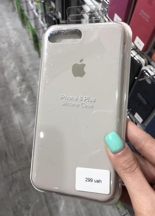 Чехол на айфон 7/8 плюс silicone case iphone 7/8 plus