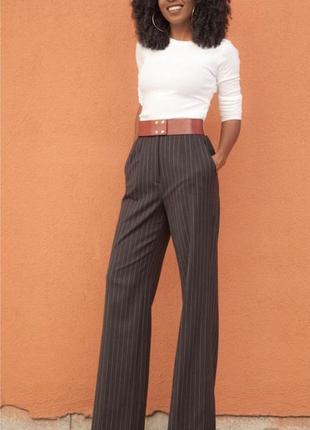Классические широкие брюки штаны  h&m