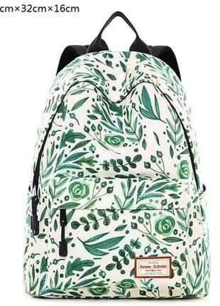 Рюкзак с листочками