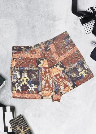 Шорты в паттерн с карманами topshop2 фото