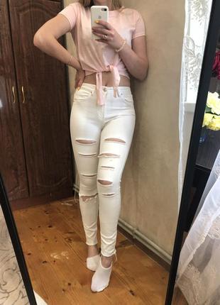 Літні джинси bershka