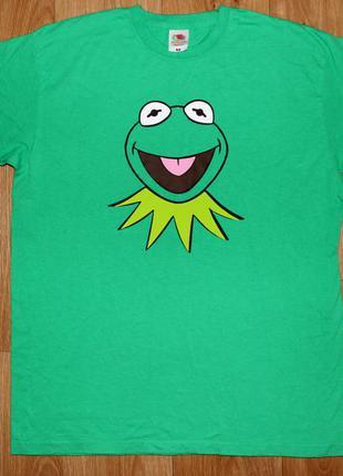 Брэндовая футболка fruit of the loom 100% хлопок р.м