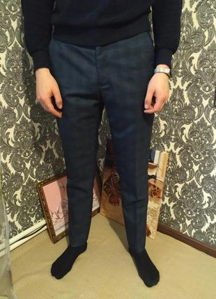 Трендовые синие брюки в клетку taylor & reece 😎😎