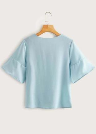 Брендовая нежная стильная блуза от peacocks