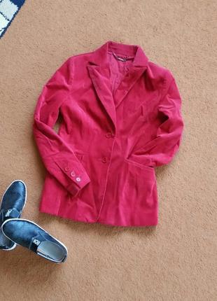 Вельветовый пиджак, жакет