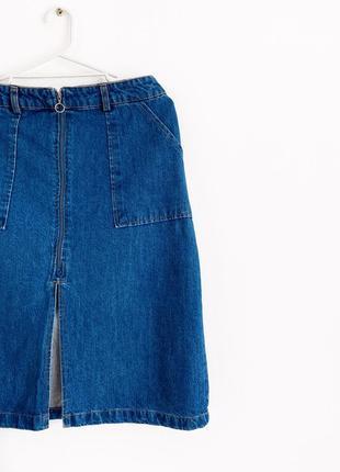 Актуальная миди джинсовая юбка
