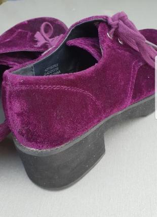 Велюровые туфли topshop p.363 фото