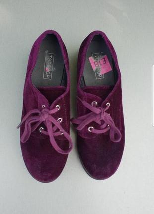 Велюровые туфли topshop p.362 фото