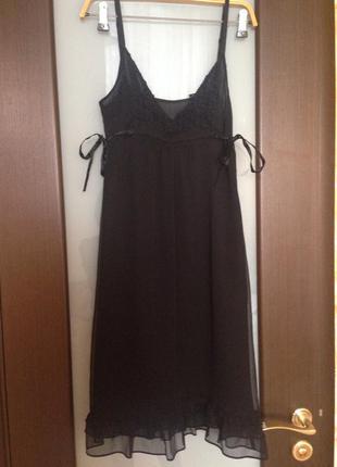 Коктейльное платье naf naf