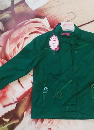 Бомбезная курточка ветровка от итальянского бренда sarah chole