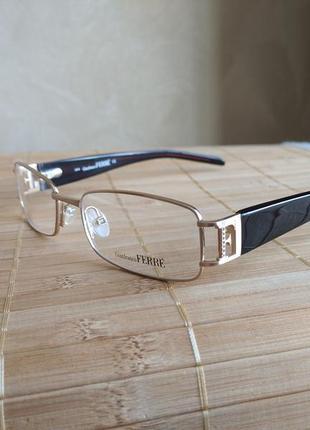 Фирменная оправа под линзы,очки женские оригинал g.ferre gf31003