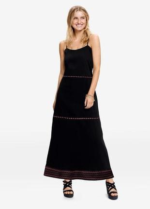 Платье сарафан макси в пол esmara германия р. 38 европ.
