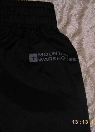 Штаны дождевики mountain warehouse -134-140/9-10 лет iso dry-мембрана
