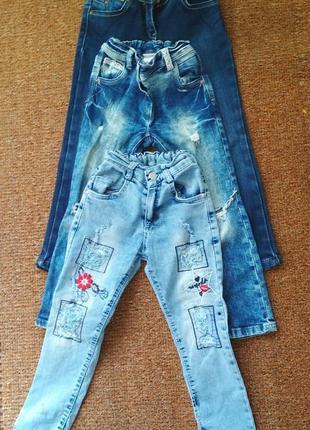 Комплект джинсиков на девочку