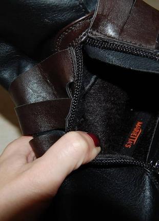 Ботинки черные демисезон 36 р распродажа2 фото