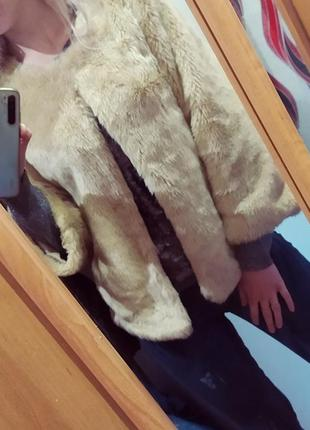 Женская шуба,шубка,полушубка zara