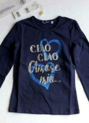 Кофта на девочку 6 лет от известного бренда original marines. италия.