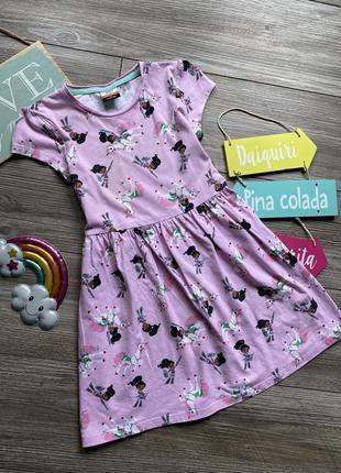 Платье с принцессой неллой george 6-7л