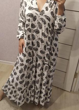 Платье бохо италия вискоза