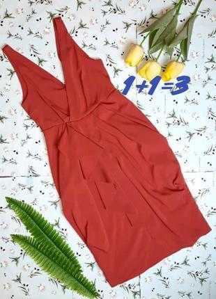 🎁1+1=3 нарядное красивое платье миди h&m, размер 42 - 44