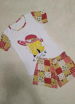 Домашний костюм-пижамка бесподобного качества!
