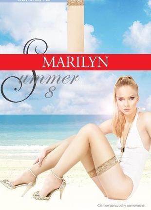 Женские тонкие чулки 8 ден marilyn