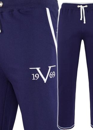 Мужские спортивные штаны versace 1969 m (48-50), l(50-52) 100 % хлопок