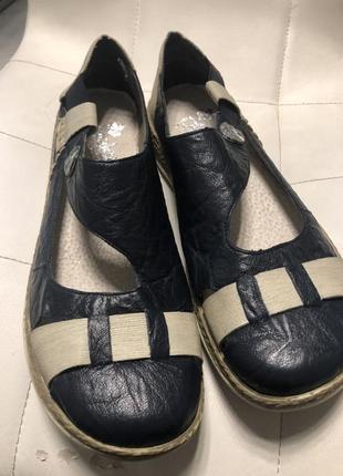 Летние туфли на низком р 42 rieker