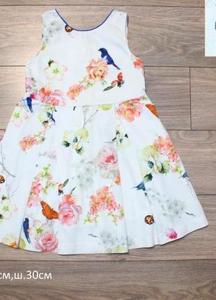 Платье next 3-4года