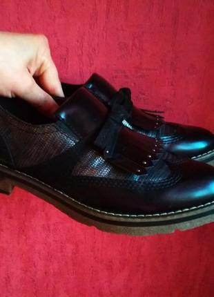 Шикарные фирменные туфли5 фото