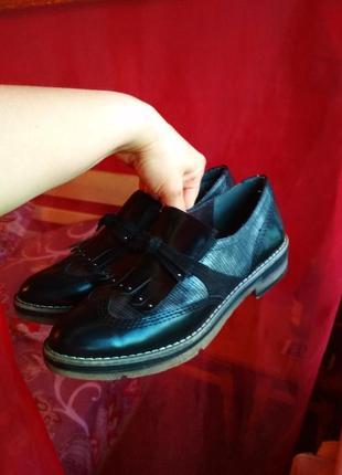 Шикарные фирменные туфли6 фото