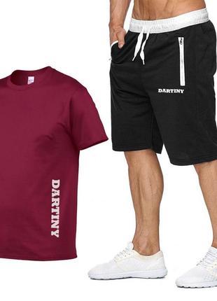 Сппортивный костюм шорты и футболка