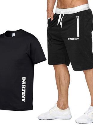 Спортивный костюм шорты и футболка