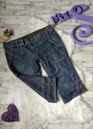 Бриджи джинсовые r.marks женские1 фото