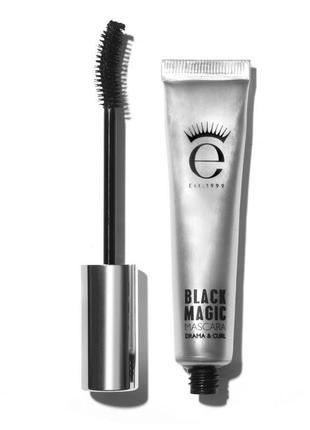 Тушь от знаменитого бренда eyeko black magic mascara drama and curl, 4 мл