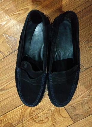 Замшевые туфли tods